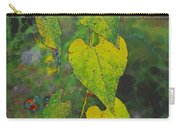 Yellow Heart Leaves IIi Photoart Carry-all Pouch