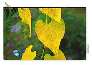 Yellow Heart Leaves  Photoart I Carry-all Pouch