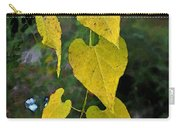 Yellow Heart Leaves Photoart II Carry-all Pouch