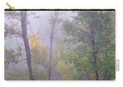 Yellow In The Fog Carry-all Pouch