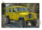 Yellow Jeep Carry-all Pouch