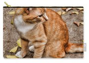 Yellow Kitty Carry-all Pouch