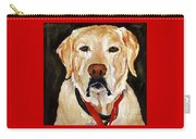 Yellow Labrador At Christmas Carry-all Pouch