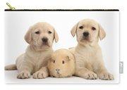 Yellow Labrador Retriever Pups Carry-all Pouch
