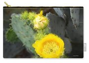 Yellow Lace Unveiled Carry-all Pouch