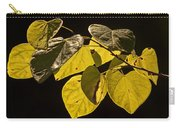 Yellow Leaves On A Tree Branch Carry-all Pouch