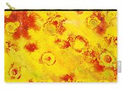 Yellow Mud Bubbles Carry-all Pouch