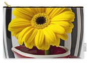 Yellow Mum In Pitcher  Carry-all Pouch
