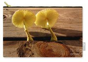 Yellow Mushrooms Carry-all Pouch