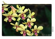 Yellow Orchid Cascade Carry-all Pouch