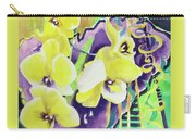 Yellow Orchids Of The Heart Carry-all Pouch