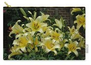 Yellow Oriental Stargazer Lilies Carry-all Pouch