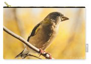 Yellow Perch Carry-all Pouch