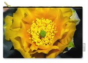 Yellow Porcupine Carry-all Pouch