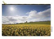Yellow Rapeseed Field, Newgrange Carry-all Pouch