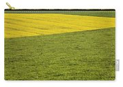 Yellow Rapeseed Growing Amongst Green Carry-all Pouch