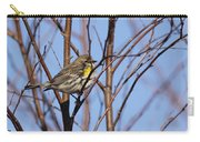 Yellow-rumped Warbler - Placid Carry-all Pouch
