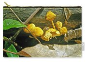 Yellow Sandpaper Mushrooms Carry-all Pouch