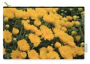 Yellow Sea Of Flowers Carry-all Pouch