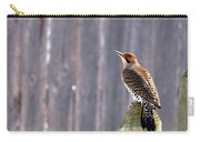 Yellow-shafted Flicker Posing Carry-all Pouch