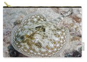 Yellow Stingray In Caribbean Sea Carry-all Pouch
