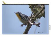 Yellow-throated Warbler Carry-all Pouch
