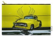 Yellow Truck In Truck Grill Carry-all Pouch