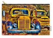Yellow Trucks Carry-all Pouch