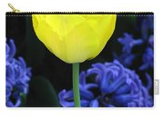 Yellow Tulip And Hyacinth Carry-all Pouch