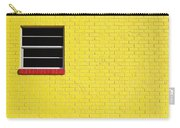 Yellow Wall 2 Carry-all Pouch