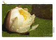 Yellow Waterlily Bud Carry-all Pouch
