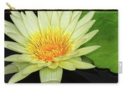 Yellow Waterlily Carry-all Pouch