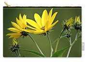 Yellow Wildflower 2 Carry-all Pouch