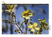 Yellow Wildflowers Carry-all Pouch