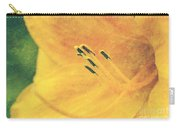 Yellows - Textured Carry-all Pouch