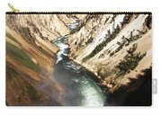 Yellowstone River Below Lower Falls Carry-all Pouch