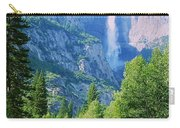 Yosemite Falls And Merced River Carry-all Pouch