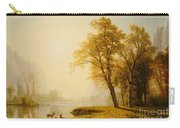 Yosemite Valley Carry-all Pouch by Albert Bierstadt
