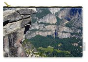 Yosemite Valley From Glacier Point Carry-all Pouch