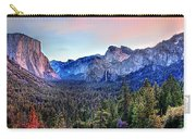 Yosemite Valley From Tunnel Carry-all Pouch