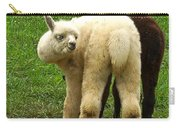 You Can't Sneak Up On Alpacas Carry-all Pouch