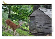 Young Buck At Treehouse Hopatcong Carry-all Pouch