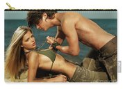 Young Couple On The Beach Carry-all Pouch