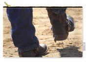 Young Cowboy With Spurs Carry-all Pouch