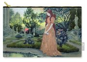 Young Girl In A Garden  Carry-all Pouch
