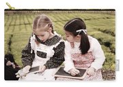 Young Girls Doodling Carry-all Pouch
