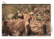 Young Longhorn Steer Carry-all Pouch