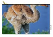 Young Sandhill Crane Carry-all Pouch