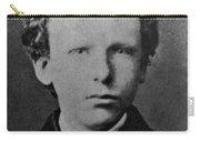 Young Vincent Van Gogh, Dutch Painter Carry-all Pouch