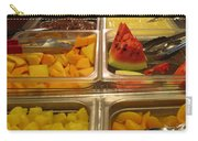 Your Choice Of Fruit Carry-all Pouch by Ausra Huntington nee Paulauskaite